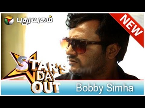 Bobby Simha in Stars Dayout (14/06/2014) - Part 1