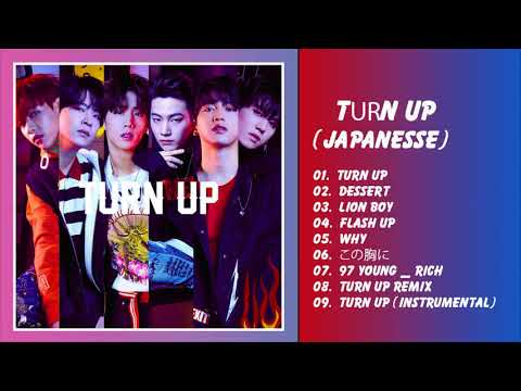 GOT7 (갓세븐) - TURN UP [Japanese] FULL ALBUM