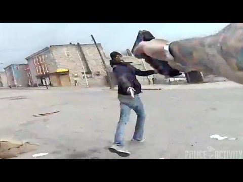 Bodycam Shows Armed Man Fatally Shot By Baltimore Police Officer