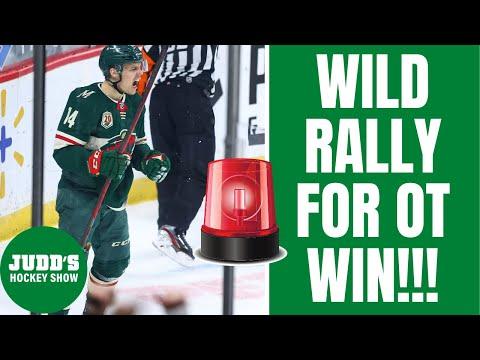 Minnesota Wild rally for INSANE comeback win over Winnipeg Jets