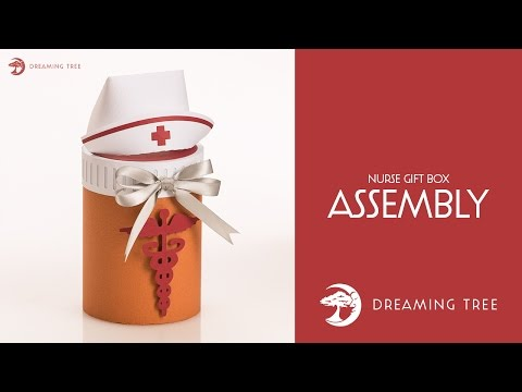 SVG File - Nurse Gift Box - Assembly Tutorial