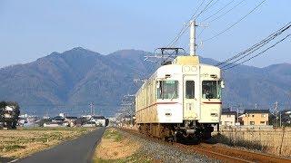 【さよなら京王色】一畑電気鉄道2100系電車 [2101F] (京王復刻カラー) ミニ走行動画