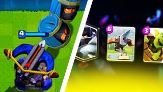 CARDS CREATED BY COMBINING 3 CARDS - Clash Royale thumbnail