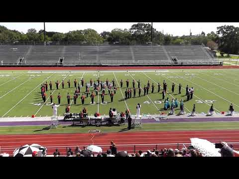 Kirbyville High School Band 2019 - UIL Region 10 Marching Contest