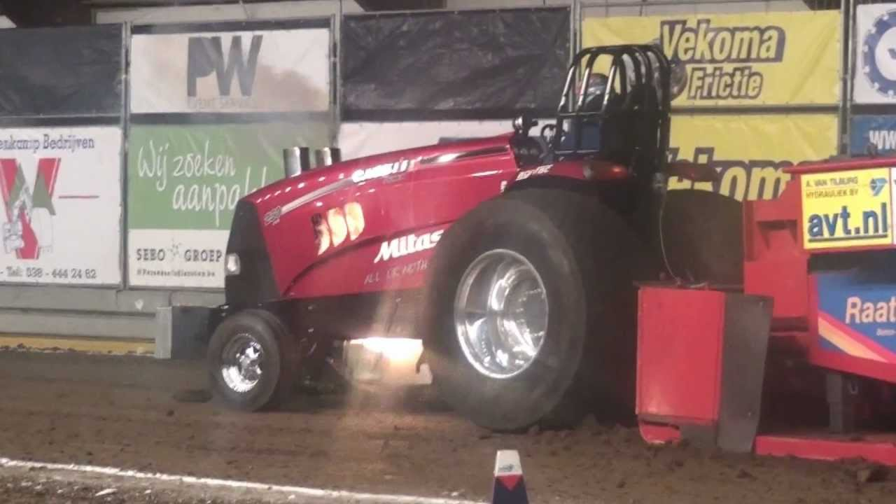 Ih Super Stock Pulling : All or nothing case ih alky super stock salland olie