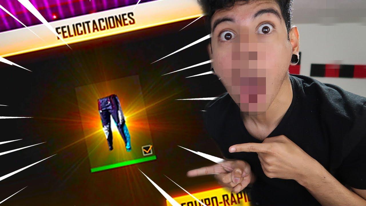Como Ganar Los Pantalones Angelicales Free Fire Youtube
