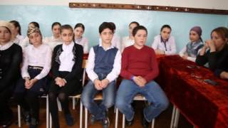 Урок дагестанской литературы.