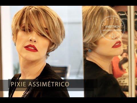 Academia Aneethun - Como fazer corte pixie assimétrico com Rodrigo Benfica
