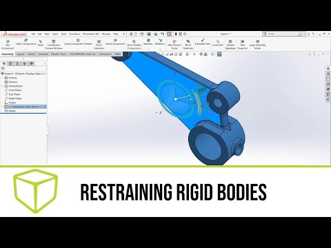 solidworks-simulation-—-restraining-rigid-bodies