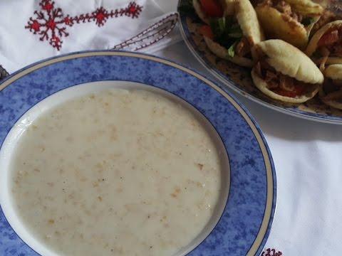 Herbel ou soupe au blé concassé  حساء هربل