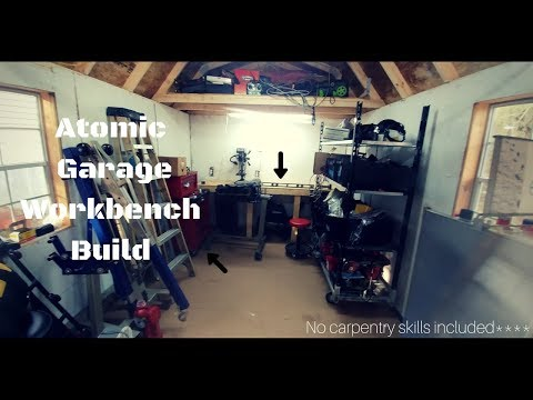 DIY CHEAP WORKBENCH BUILD for my SHOP