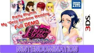 3DS - Pretty Rhythm: My *Deco Rainbow Wedding - Girlie OVERLOAD DEMO プリティーリズム
