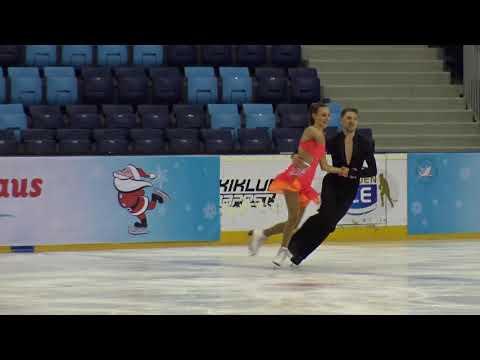 2017 Santa Claus Cup :Olivia DUFOURLuke RUSSELLGBRID SENIOR SHORT DANCE NON ISU