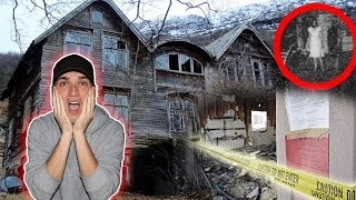 SNEAKING INTO ABANDONED CRIME SCENE ( HAUNTED VILLAGE )