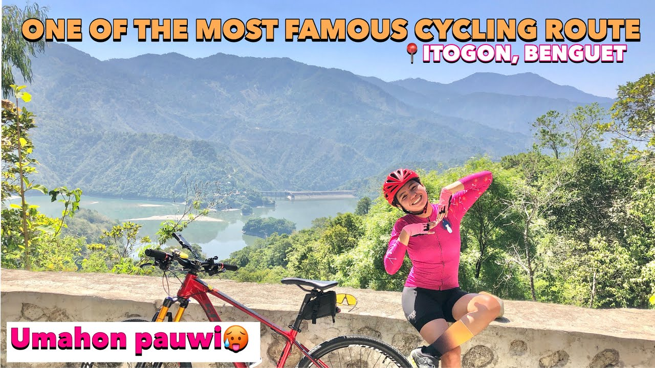 ONE OF THE MOST FAMOUS CYCLING ROUTE IN BENGUET, BAGUIO CITY TO BINGA DAM |by GAYE PARIS