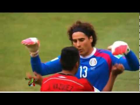 El color Mexico vs brasil en la copa fifa 2014 Televisa deportes