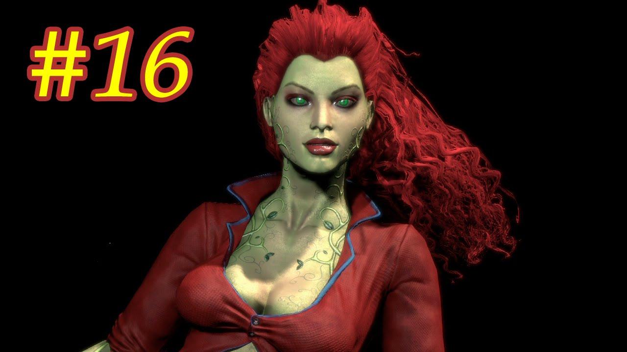 женщина плющ из бэтмена