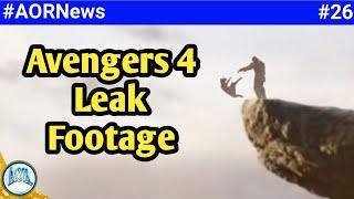 Avengers 4 Leak footage real or fake, Avengers Endgame Exclusive image, Disney+ || AORNews 26