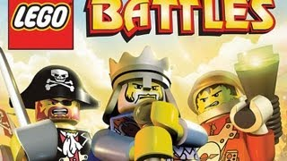 CGRundertow LEGO BATTLES for Nintendo DS Video Game Review