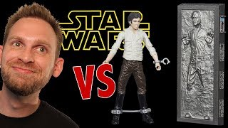 Star Wars Han Solo in Carbonite Figure Unboxing