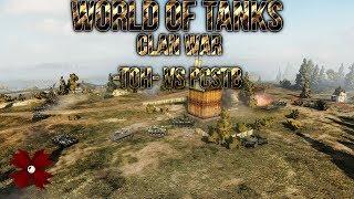 World of Tanks - Clan War - TOH vs PCSTB [HD|Malinovka|Deutsch]