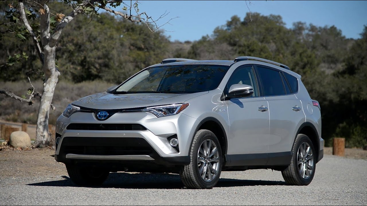 2016 toyota rav4 hybrid wr tv walkaround pov test. Black Bedroom Furniture Sets. Home Design Ideas