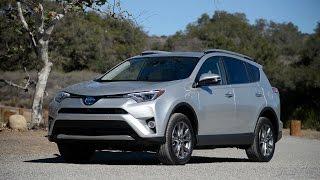 2016 Toyota RAV4 Hybrid - WR TV Walkaround & POV Test Drive