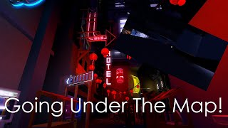(Going Under The Map) Neon District Roblox: The Search for the Redwoods