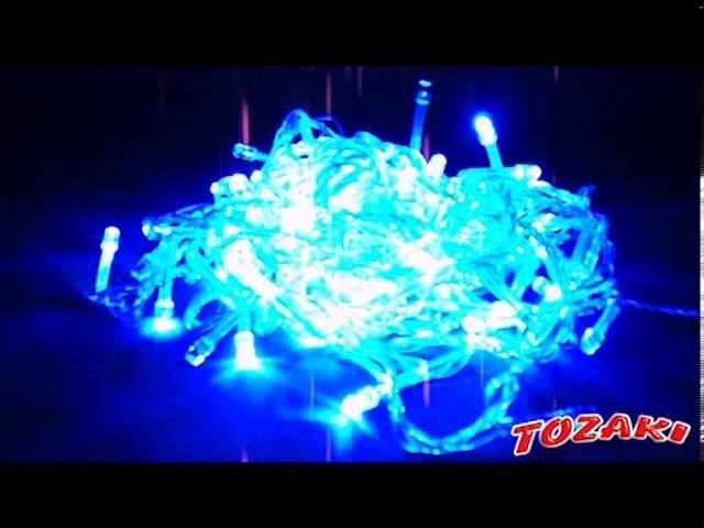 Pisca-pisca LED Azul Tozaki Artigos para festas