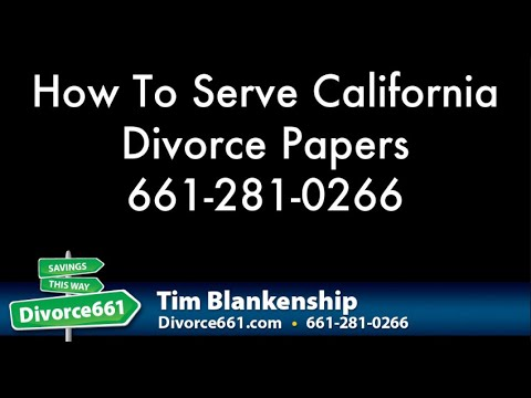 how to get your divorce papers