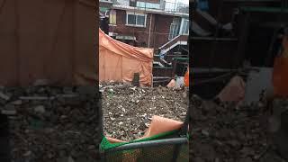 양천구 안전불감증의 주택철거현장