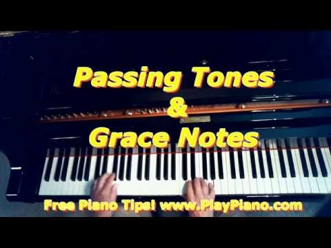 Grace Notes & Passing Tones - What Are They?
