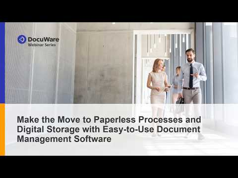 Move To Paperless Processes And Digital Storage With Easy-to-Use Document Management Software