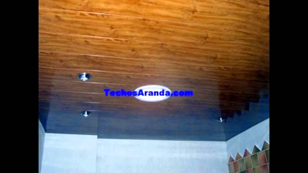 Techos de aluminio para ba os youtube for Techos desmontables para banos