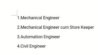 8Dec2019-Wanted-Engineers, Store keeper