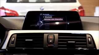 BMW iPhone emparelhamento com Bluetooth.