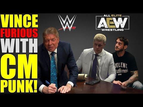 Vince McMahon's SHOCKING Backstage Reaction To CM Punk REFUSING WWE Return To Join AEW REVEALED!