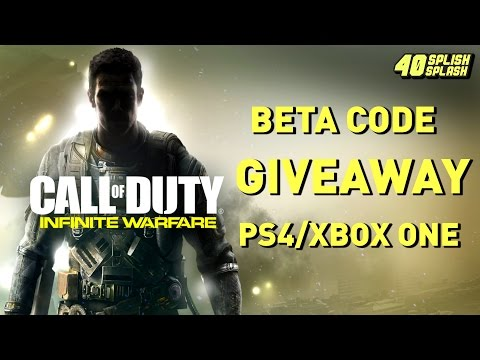 Infinite Warfare Beta Code Giveaway! (PS4/Xbox One Europe)