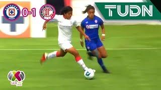 Toluca derrota a la máquina | Cruz Azul 0 - 1 Toluca | Ap 2019 - J5 Liga MX Femenil  | TUDN