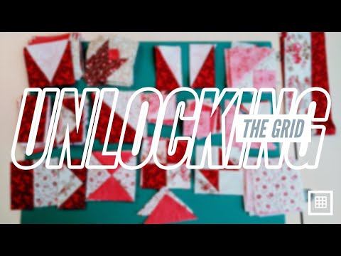 UNLOCKING The Quilt Block GRID - With Kaye England