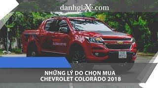 [DanhgiaXe.com] Những lý do chọn mua Chevrolet Colorado 2018