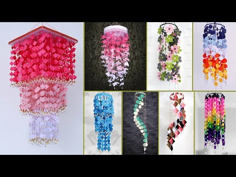 8 Creative Wall Hangings !!! Paper Craft
