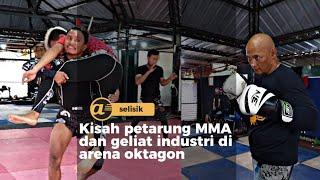 Kisah petarung MMA dan geliat industri di arena oktagon