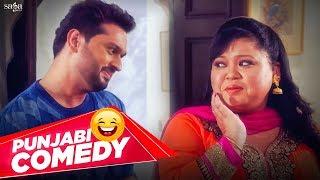 Bharti Singh - New Punjabi Comedy Scene | Jassi Gill, Roshan Prince | Funny Scene 2018 | Saga Music