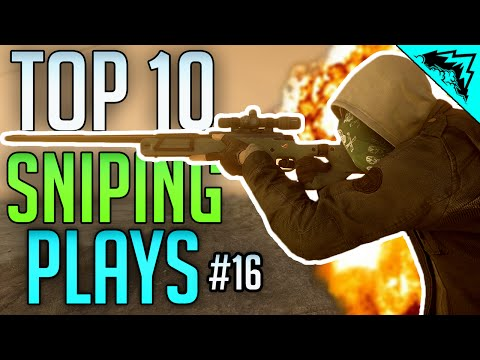 Battlefield Hardline Top 10 Sniping Kills (Knockout, Scout, Headshots, Long Range) Bonus Plays #16