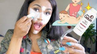 CRASH TEST : Makeup avec du talc pour bébé, solution miracle ? Anti peau grasse | ASHLEY