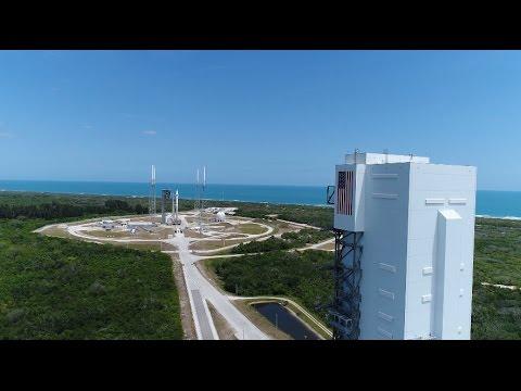 Download Youtube: Aerial Views of Atlas V OA-7