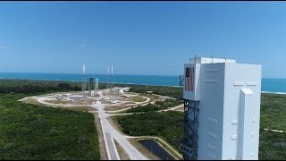 Aerial Views of Atlas V OA-7