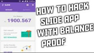 how to hack slide app || Without root ||Unlimited Recharge