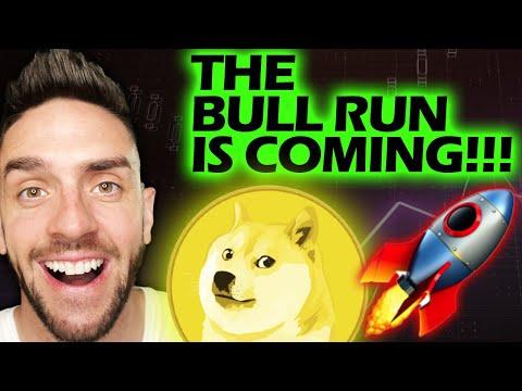 THE DOGECOIN U0026 CRYPTO BULL RUN  STARTING!!!!!!#DOGECOIN #DOGE #DOGENEWS